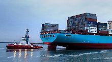 Zukäufe geplant: Containersparte bei Reederei Maersk dampft