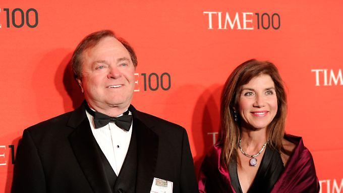"""""""Time"""" führte Hamm 2012 in der Liste der """"einflussreichsten Persönlichkeiten""""."""