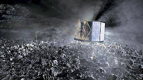 """""""'Philae' spricht mit uns"""": Mini-Labor landet auf Komet """"Tschuri"""""""
