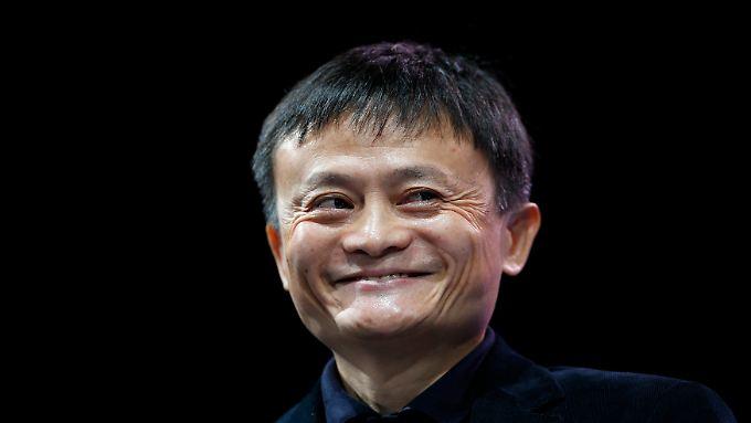 Grund zur Freude: Alibaba-Gründer Jack Ma darf dank regen Betriebs auf dem US-Anleihenmarkt mit einem Erfolg seiner Emission rechnen.
