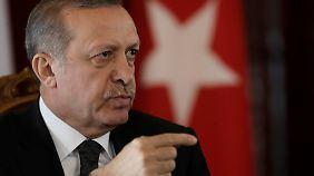 Geschichtsunterricht mit Erdogan.