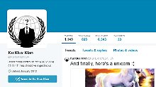 Hacker veröffentlichen Botschaft: Anonymous legt sich mit Ku-Klux-Klan an