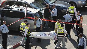 Terror in Jerusalem: Palästinenser töten mehrere Betende in Synagoge