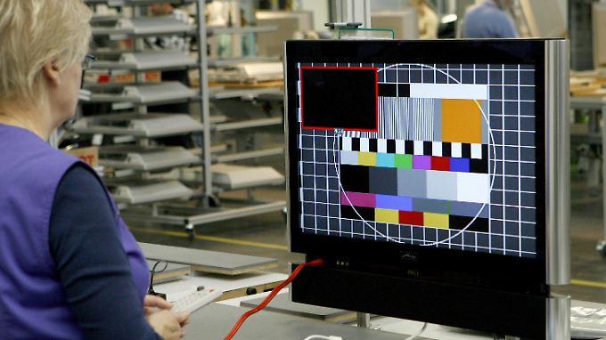 Die Firma Metz ist eine der letzten, die noch in Deutschland Fernseher produziert.