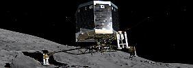 "Originalton im Netz: So klingt ""Philaes"" Landung auf dem Kometen"