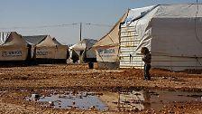 Der UNHCR hat in Jordanien 620.000 Flüchtlinge aus Syrien registriert.