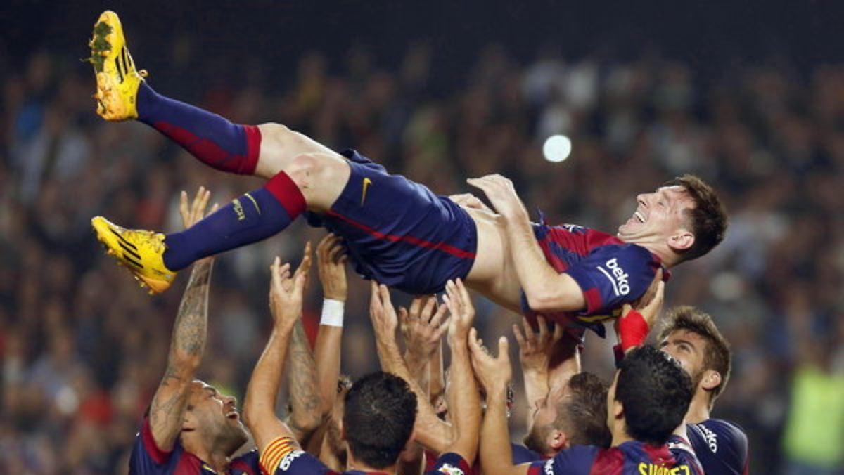 Messi schießt sich in die Geschichtsbücher