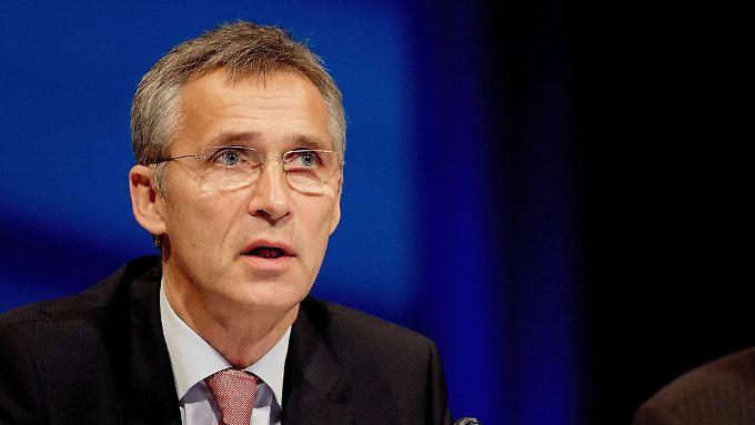 Jens Stoltenberg, fordernd.