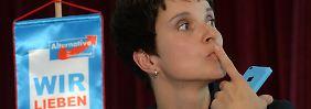Interview mit Frauke Petry: Alle wollen den Soli, nur die AfD nicht