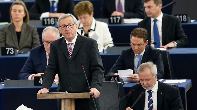 Jean-Claude Juncker sieht Europa in der Investitionsfalle.