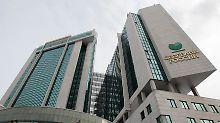 Die Sberbank ist das größte Geldinstitut Russlands.