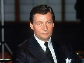 Alfred Herrhausen: Seit 1970 im Vorstand der Deutschen Bank.