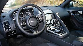 Alternativ zur 8-Gang-Automatik wird Jaguar demnächst eine Handschaltung anbieten.