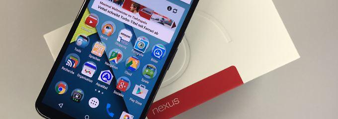 Testgeräte schon da: Nexus 6 wird ab 5. Dezember ausgeliefert