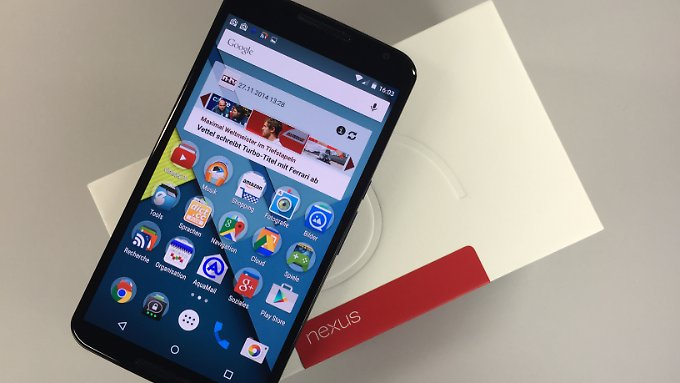Das Nexus 6 kommt später als erwartet.