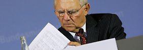 Bundesfinanzminister Schäuble vermisst konkrete Pläne aus Athen.