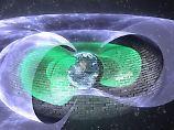 """Elektronenabwehr à la """"Star Trek"""": Unsichtbarer Schild beschützt Erde"""