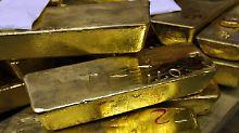 Wetten auf den Brexit: Goldpreis klettert auf Jahreshoch