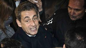 Erster Schritt: Parteivorsitz: Sarkozy startet Comeback