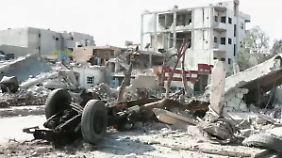 Blick in eine umkämpfte Stadt: Kamerateam filmt in den Trümmern von Kobane
