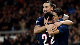Zlatan Ibrahimovic verliert einen Kollegen an die chinesische Fußball-Konkurrenz,