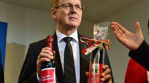 Zitterpartie in Thüringen: Ramelow im zweiten Anlauf zum Ministerpräsidenten gewählt