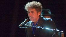 Vom Mikro zum Pinsel: Bob Dylan.