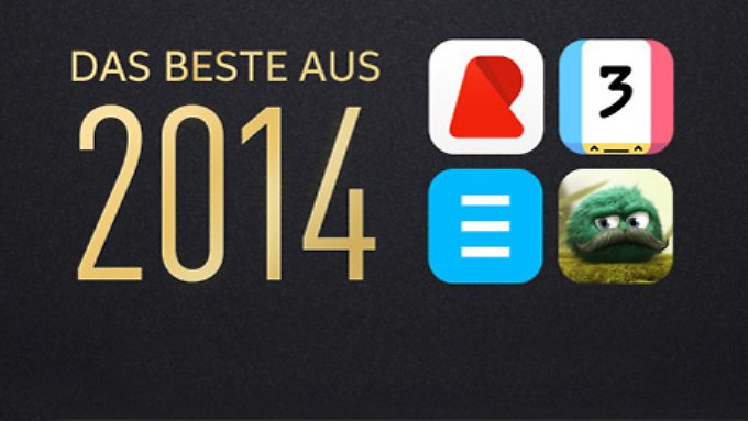Apple feiert die besten Apps des Jahres.
