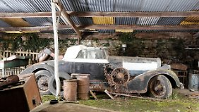 Die Autos rotteten vor sich hin, so auch dieses Cabrio der spanisch-schweizerischen Luxusmarke Hispano Suiza aus den 1920er-Jahren mit Karosserie von Million-Guiet.