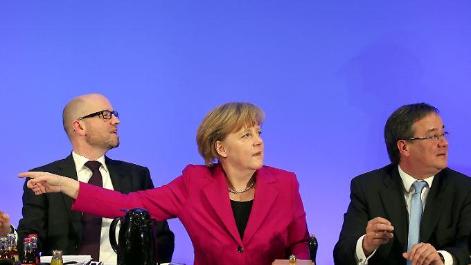Wo geht es in Richtung Kompromiss? Der CDU-Bundesvorstand hat sich geeinigt.