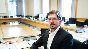 Martin Delius sitzt für die Piratenpartei im Abgeordnetenhaus und ist Vorsitzender des BER-Untersuchungsausschusses.