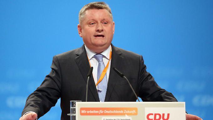 Herrmann Gröhe will nun in den Vorstand.