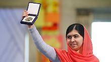 """""""Bis jedes Kind zur Schule kann"""": Malala will weiterkämpfen"""