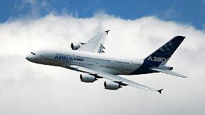 Viele Baustellen bei Airbus: A350 verspätet sich, A380 droht das Aus