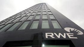 Der RWE-Tower in der Dortmunder Innenstadt.