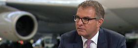 """Lufthansa-Chef Spohr im Interview: """"Ich bin sicher, wir werden Lösungen finden"""""""