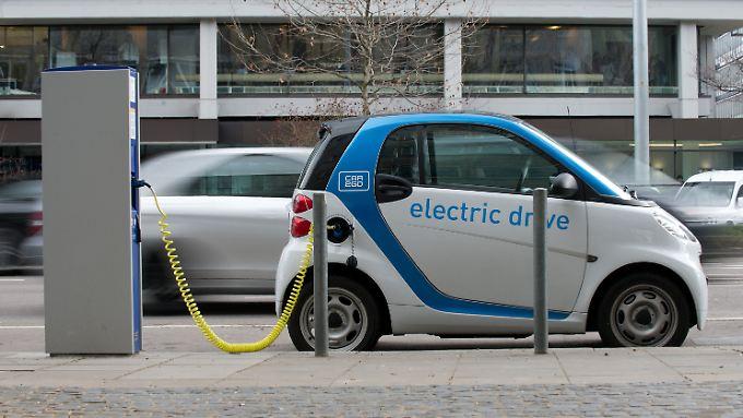Die Ökobilanz von Elektroautos ist nur besser mit Ökostrom.