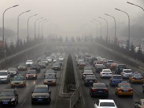 Rush Hour in Peking.