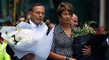 """Der polizeibekannte Extremist sei """"psychisch labil"""" gewesen, so Abbotts Erklärungsversuch."""