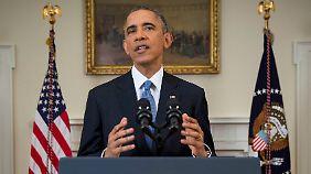 Obama: Aufseiten der USA werden zunächst das Handelsembargo gelockert und Reisebeschränkungen aufgehoben.