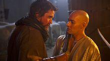 Bruderkampf bis aufs Blut: Moses (Christian Bale, l.) und Ramses (Joel Edgerton).