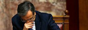 Antonis Samaras hätte die Neuwahlen lieber vermieden.