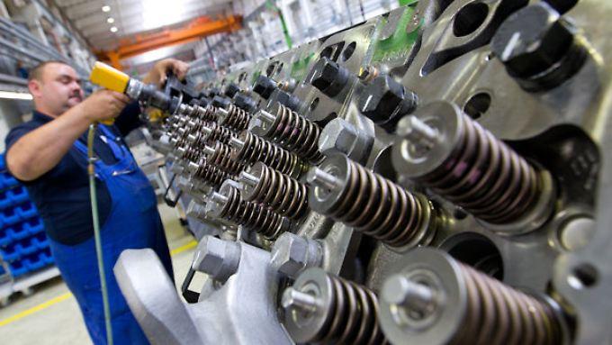 Der Maschinenbau profitiert besonders vom Export.