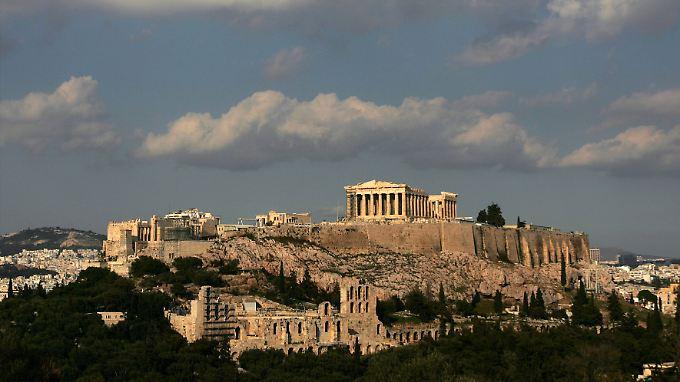 Schwierige politische Verhältnisse unterhalb der Akropolis.