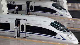 Chinas Zughersteller CNR und CSR fusionieren.