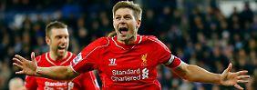 Noch ist Steven Gerrard nicht vom FC Liverpool wegzudenken.