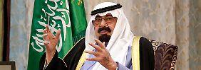 Wie geht es Saudi-Arabiens König?: Abdullahs Gesundheit beschäftigt Ölmarkt