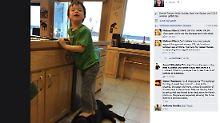 Screenshot von Palins Facebookseite.