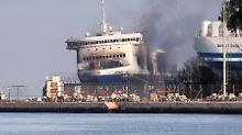 """""""Norman Atlantic"""" brennt weiter: Deutsche Ermittler schalten sich ein"""