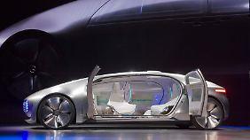 Trend und neues auf der CES: Daimler präsentiert Konzept für selbstfahrendes Auto